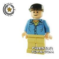 Product shot LEGO Indiana Jones Mini Figure – Jock