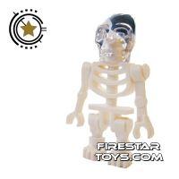 Product shot LEGO Indiana Jones Mini Figure - Akator Skeleton
