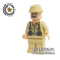 Product shot LEGO Indiana Jones Mini Figure - German Soldier 4