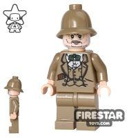 Product shot LEGO Indiana Jones Mini Figure - Henry Jones Sr