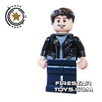 Product shot LEGO Indiana Jones Mini Figure - Mutt Williams