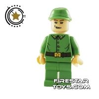 Product shot LEGO Indiana Jones Mini Figure - Russian Guard 1