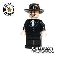 Product shot LEGO Indiana Jones Mini Figure - Shanghai Gangster Grin