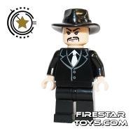 Product shot LEGO Indiana Jones Mini Figure - Shanghai Gangster Moustache