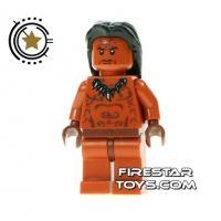 Product shot LEGO Indiana Jones Mini Figure - Ugha Warrior