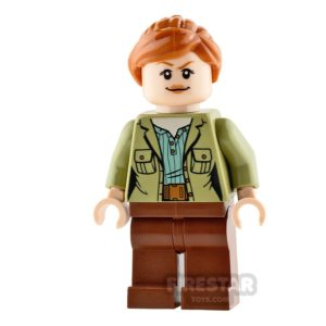 Product shot LEGO Jurassic World Figure - Claire Dearing