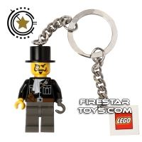 Product shot LEGO Key Chain - Adventurers - Lord Sam Sinister