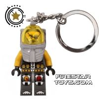 Product shot LEGO Key Chain - Atlantis - Captain Ace Speedman
