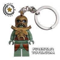 Product shot LEGO Key Chain - Atlantis - Portal Emperor