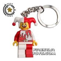 Product shot LEGO Key Chain - Castle - Jester