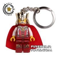Product shot LEGO Key Chain - Castle - King