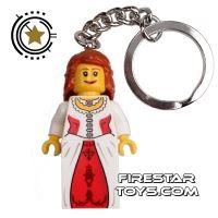 Product shot LEGO Key Chain - Castle - Princess