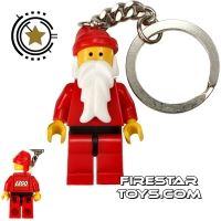 Product shot LEGO Key Chain City Santa