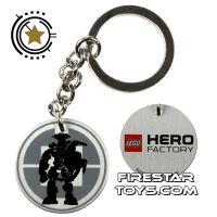Product shot LEGO Key Chain - Hero Factory
