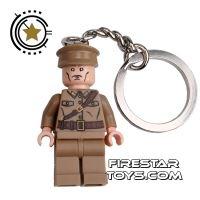 Product shot LEGO Key Chain - Indiana Jones - Colonel Dovchenko
