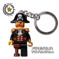 Product shot LEGO Key Chain - Pirates - Captain