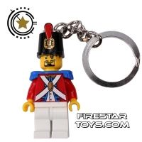 Product shot LEGO Key Chain - Pirates - Soldier