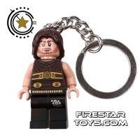 Product shot LEGO Key Chain - Prince of Persia - Dastan