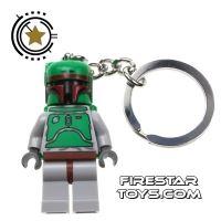 Product shot LEGO Key Chain - Star Wars - Boba Fett