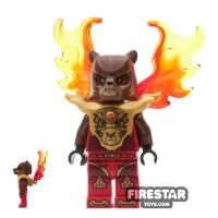Product shot LEGO Legends of Chima Mini Figure - Bladvic - Armour with Flame Wings