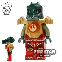 Product shot LEGO Legends of Chima Mini Figure - Cragger Fire Chi - Armour
