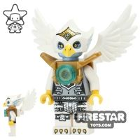 Product shot LEGO Legends of Chima Mini Figure - Eris - Silver and Gold