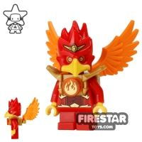 Product shot LEGO Legends of Chima Mini Figure - Flinx with Wings