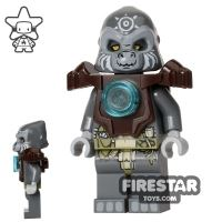 Product shot LEGO Legends of Chima Minifigure Grumlo Dark Brown Armour