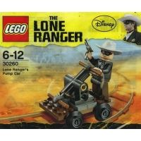 Product shot LEGO Lone Ranger 30260 - Pump Car