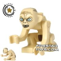 Product shot LEGO Lord of the Rings Mini Figure - Gollum - Narrow Eyes