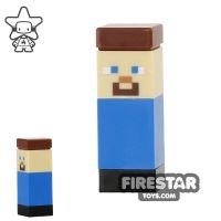 Product shot LEGO Minecraft Mini Figure - Micromob Steve