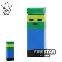 Product shot LEGO Minecraft Mini Figure - Micromob Zombie