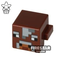 Product shot LEGO Minecraft Mini Figure - Minecraft Cow