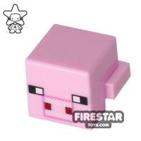 Product shot LEGO Minecraft Mini Figure - Minecraft Pig