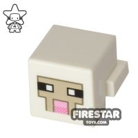 Product shot LEGO Minecraft Mini Figure - Minecraft Sheep