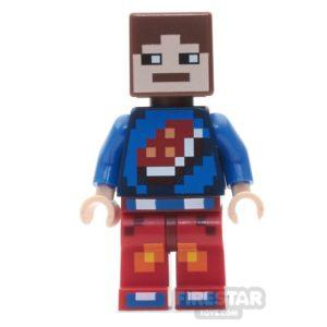 Product shot LEGO Minecraft Mini Figure - Minecraft Skin 7