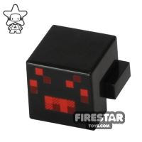 Product shot LEGO Minecraft Mini Figure - Minecraft Spider