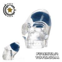 Product shot LEGO Mini Figure Heads - Akator Skeleton