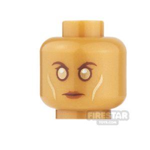 Product shot LEGO Mini Figure Heads - Ayesha