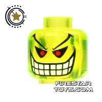 Product shot LEGO Mini Figure Heads - Batman - Jokers Bomb
