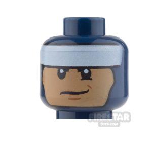 Product shot LEGO Mini Figure Heads - Batman - Smile / Clenched Teeth
