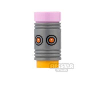Product shot LEGO Mini Figure Heads - Batman - The Eraser