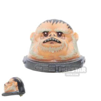 Product shot LEGO Mini Figure Heads - Bistan