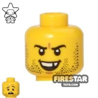 Product shot LEGO Mini Figure Heads - Broken Tooth
