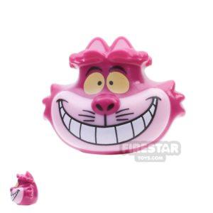 Product shot LEGO Mini Figure Heads - Cheshire Cat