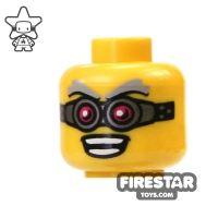 Product shot LEGO Mini Figure Heads - Crazy Goggles