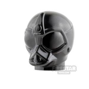 Product shot LEGO Mini Figure Heads - Death Star Droid