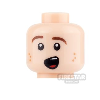 Product shot LEGO Mini Figure Heads - Excited Smile