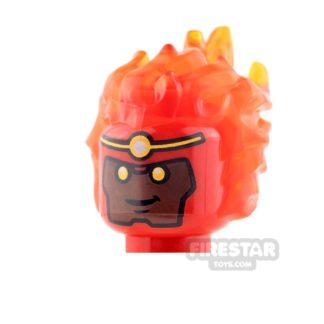Product shot LEGO Mini Figure Heads - Firestorm