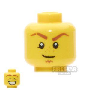 Product shot LEGO Mini Figure Heads -  Goatee